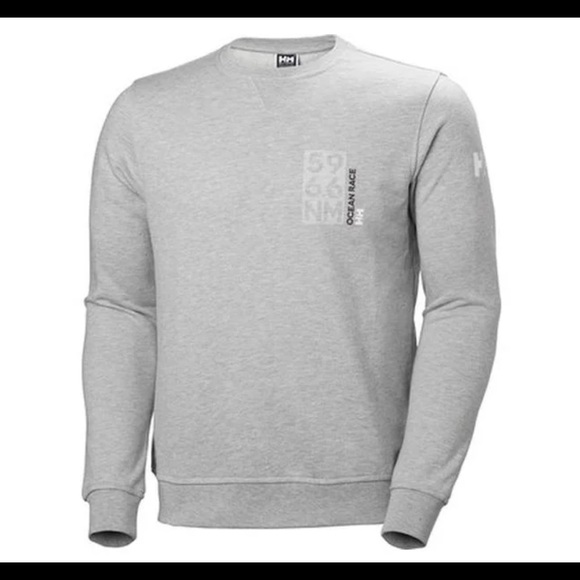 szybka dostawa sprzedaż obuwia kupuj bestsellery Helly Hansen Mens HP Shore French Terry Sweater NWT